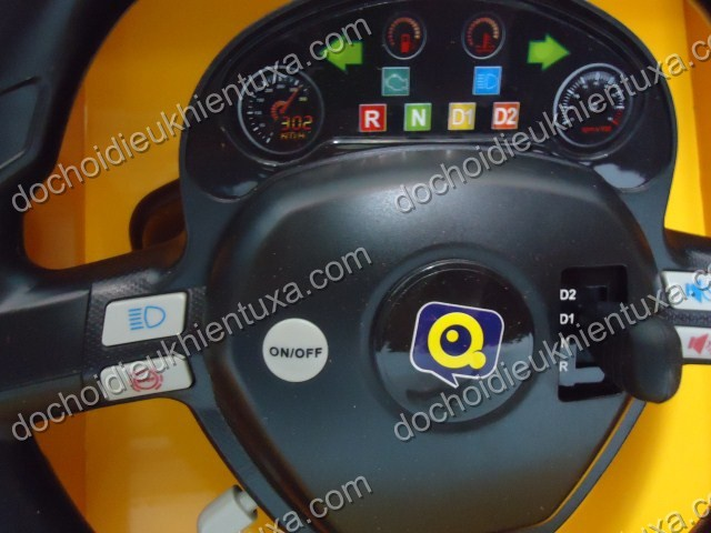 Xe điều khiển từ xa có đèn, còi, xi nhan 661 6