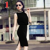 Đầm Yếm khoét lưng thời trang  D4674V