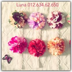 Băng đô hoa cho bé - nhiều màu lựa chọn