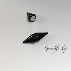 [Greenlife Shop] Khuyên tai inox đinh nhọn 2 đầu dạng hít - BX375
