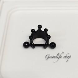 [Greenlife Shop] BX376 - Khuyên tai inox vương miện