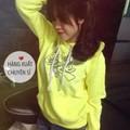 [Fivestyle Shop] Áo khoác hoodie dạ quang vàng A.Ealge VNXK!