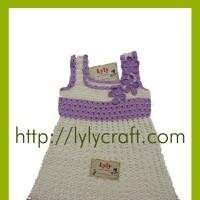 Váy Len bé gái - Móc Thủ công - Handmade