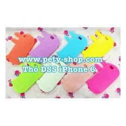 Ốp Lưng Hình Thỏ DSS iPhone 4 4S 5 5S 6 6S 6Plus 6S Plus Note 3