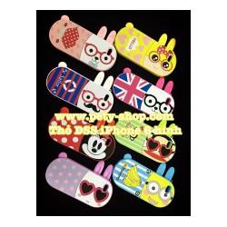 Ốp Lưng Hình Thỏ DSS iPhone 4 4S 5 5S 6 6S 6Plus 6S Plus Samsung S5