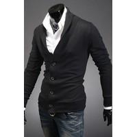 Hugo_Áo khoác cardigan kiểu vest cách điệu - CA39