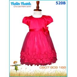 Đầm công chúa đính hạt xinh xắn cho bé yêu