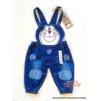 Quần yếm thêu đắp Doraemon cho bé trai - gái