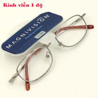Mắt kính viễn Mỹ 1 độ MS20610, mắt kính thời trang