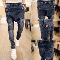Quần jeans nam đáy thụng Mã: ND0410