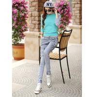 Quần jeans nữ lưng thun 1862 Mã: QD460