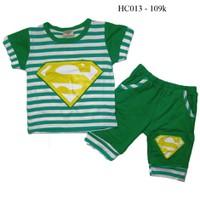 Đồ bộ cho bé siêu nhân HC013 9kg - 21kg