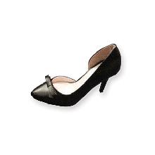 Giày LAZA khoét eo đính nơ 9cm CZR10