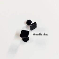 [Greenlife Shop] BX398 - Khuyên tai inox vuông