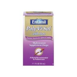 Thuốc Bổ nhỏ giọt Enfamil Polyvisol bổ sung sắt