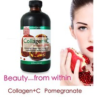 Nước uống COLLAGEN + C POMEGRANATE Liquid 16 Oz