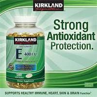 Viên Bổ Sung Vitamin E Kirkland 400IU - 500 Viên