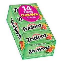 Kẹo Singum Trident Vị Dưa Lưới - Hộp 14 Phong
