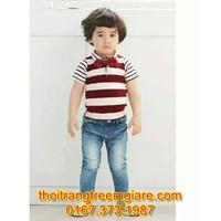 Bộ quần jean,áo thun cực sành điệu-QB077