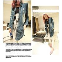 Áo khoác jeans rách cá tính Mã: AO1764