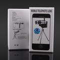 Ống kính Lens 12x cho điện thoại  iPhone 4 4S Bạc