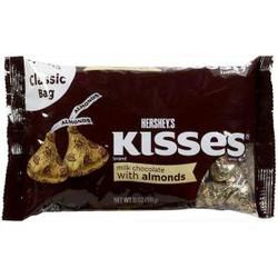 Kẹo Socola Hershey Kisses Nhân Hạnh Nhân 340gr