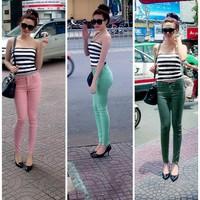 Quần jean skinny color block 3 màu QJ88