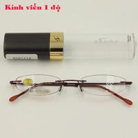 Mắt kính viễn thị 1 độ 41114, mắt kính thời trang