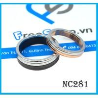 Nhẫn đôi NC281 - BH vĩnh viễn ko đen