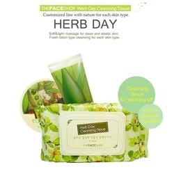 Khăn giấy tẩy trang Herb Day
