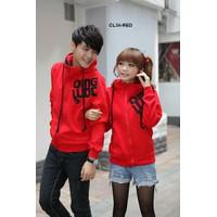 Áo khoác cặp đôi màu đỏ in chữ KD02 - GIÁ TÍNH TRÊN 1 ÁO HÀNG DÀY DẶN