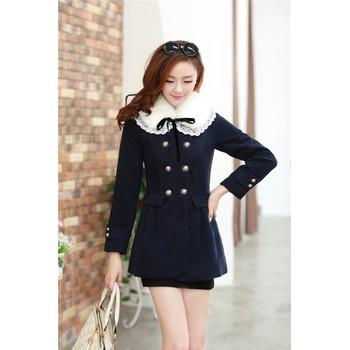 Áo khoác dạ W0043 - màu café, hồng, xanh đen