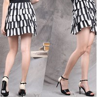 Giày cao gót, gót bọc thời trang