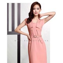 Đầm công sở Hàn quốc Dịu dàng ngày xuân