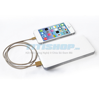 Cáp Sạc USB Lightning Iphone 5S gold 5S iOS 7 - ipad mini - ipad 4
