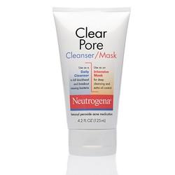 Sữa rửa mặt Clear Pore Cleanser Mask hiệu Neutrogena
