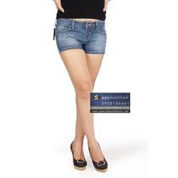 Quần short nữ jeans Star xanh nhạt -37192
