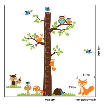 Decal thước đo cây to