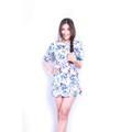 Đầm Hoa Dài Tay