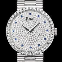 Đồng hồ đôi Piaget đính đá MS189