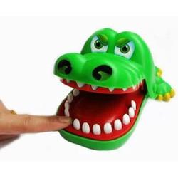 Gia khai truong Trò chơi khám răng cá sấu Màu xanh