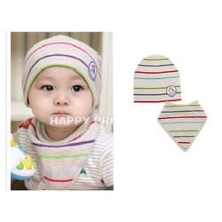 Bộ khăn mũ trẻ em -sành điệu, thời trang, ấm áp
