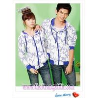 áo khoác cặp tình nhân Mã: AP086 - XANH