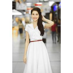 Đầm hoa hậu Thu Thảo