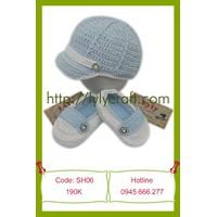 SET Giày + Mũ Len Móc Thủ công - Handmade