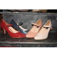 Giày cao gót da bóng cực xinh GCG5