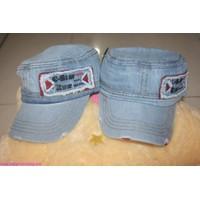 Nón vải Jeans C-STAR RAW bụi bậm NO19