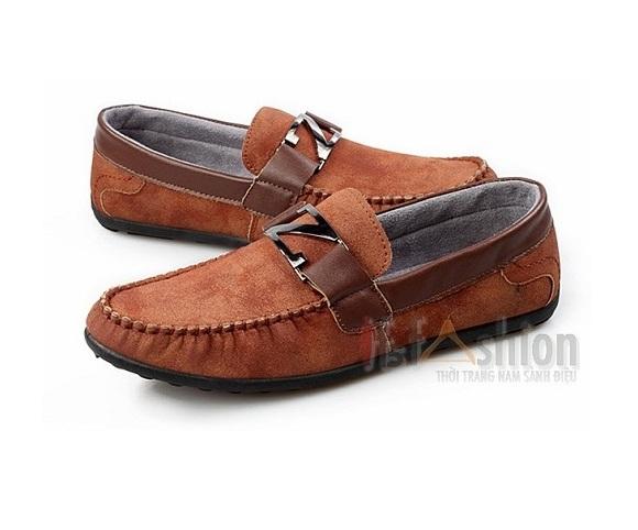 giay luoi nam han quoc vs42 1m4G3 giay moi nam mau nau dam gm42 2imoemclfre4f Các bạn có biết chọn lựa giày nam hợp lý chưa?