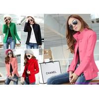 Bộ sưu tập áo khoác nữ xuân hè cao cấp đa chất liệu phom cực đẹp AK158