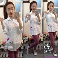 Bộ sưu tập áo sơ mi nữ công sở cao cấp đa chất liệu phom cực đẹp AS291